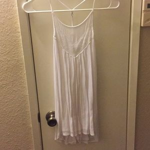 Hollister Co white tank top